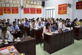 Đại hội đảng viên Đảng bộ Công ty cổ phần Công trình công cộng nhiệm kỳ năm 2020-2025