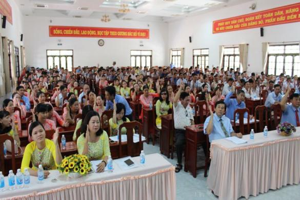 Hội nghị Người lao động Công ty cổ phần Công trình công cộng Vĩnh Long năm 2019