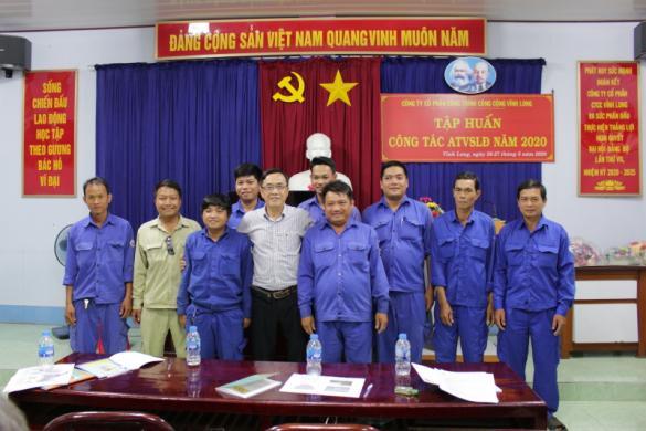 Tập huấn nghiệp vụ An toàn vệ sinh lao động năm 2020