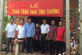 Lễ trao tặng nhà tình thương cho người nghèo tại Xã Thuận Thới, Trà Ôn, Vĩnh Long.