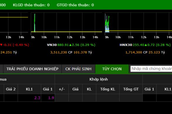 Tham khảo giá cổ phiếu VLP trên sàn UPcoM