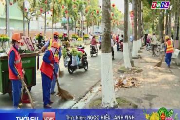 THVL - Tổng công tác vệ sinh môi trường chuẩn bị đón giao thừa Xuân Kỷ Hợi năm 2019 (VIPUCO)
