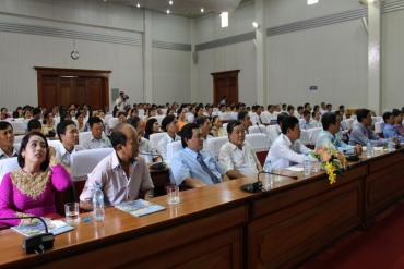 Kỷ niệm 20 năm thành lập công ty cổ phần công trình công cộng Vĩnh Long