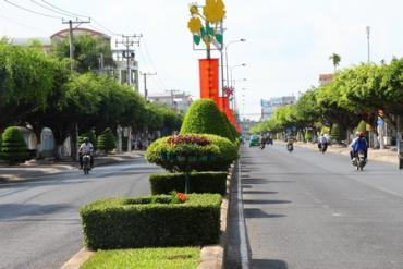 THVL - Không gian cây xanh đô thị Thành phố Vĩnh Long