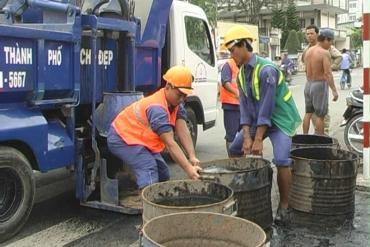 Thành phố Vĩnh Long tăng cường các biện pháp thoát nước mùa mưa, lũ